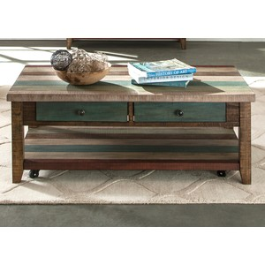 Rectangular Cocktail Table | Liberty Furniture