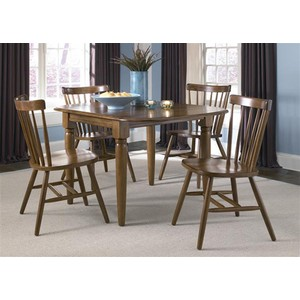 Drop Leaf Table in Tobacco | Liberty Furniture