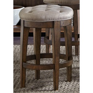 Upholstered Backless Barstool | Liberty Furniture