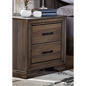 Two-Drawer Nightstand | Liberty Furniture