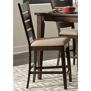 Ladder-Back Counter Chair | Liberty Furniture