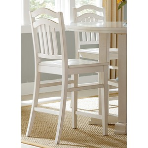 Slat-Back Counter Chair | Liberty Furniture