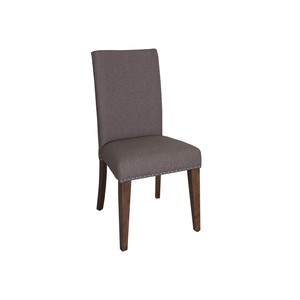Upholstered Side Chair in Gray