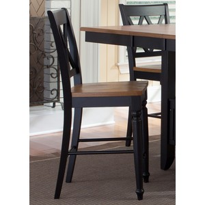 Double X-Back Counter Chair | Liberty Furniture