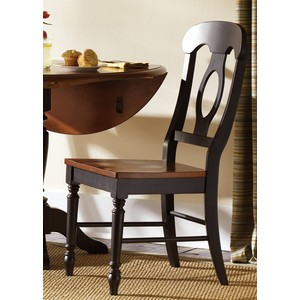 Napoleon Back Side Chair | Liberty Furniture