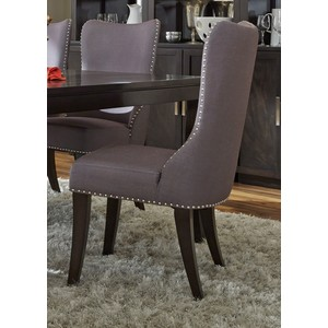 Upholstered Side Chair in Grey | Liberty Furniture