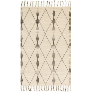 Tulum Ivory and Pebble Rug | Loloi