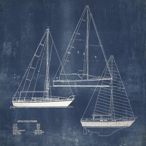 Blueprint I Giclee Art