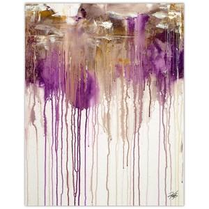 Lavendar Dusk Giclee Art | Collection Art