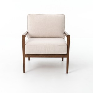 Laurent Wood-Frame Accent Chair