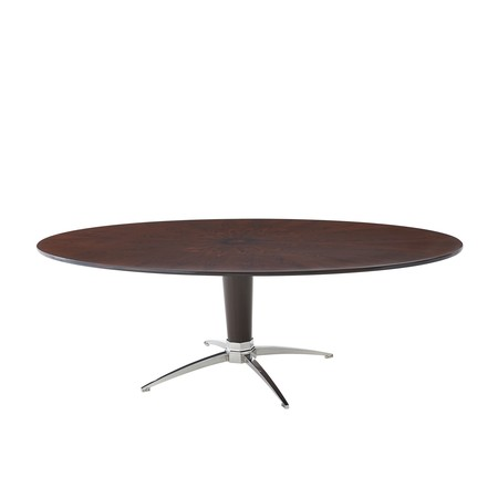 Sleek ii dining table tables theodore alexander the for Sleek dining table designs