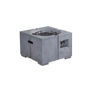 Dante Fire Pit in Gray | Zuo Modern