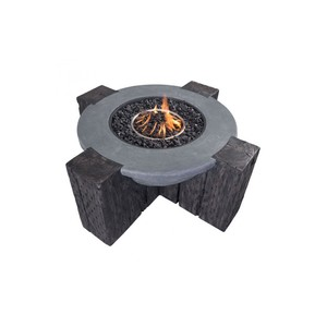 Hades Fire Pit in Gray | Zuo Modern