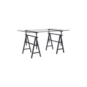 Ralston Desk in Antique Black | Zuo Modern