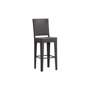 Anguilla Bar Chair in Espresso | Zuo Modern