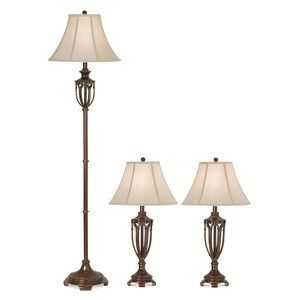 The Estate Collection Lamps-Set of 3 | Pacific Coast Lighting