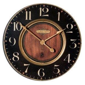 "Alexandre Martinot 30"" Clock 