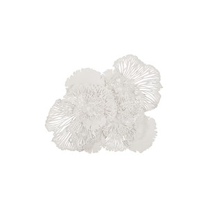 Flower Wall Art in White | Phillips Collection