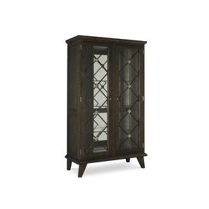 Englewood Display Cabinet in Grey Renaissance | Chaddock