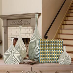 Bloom Vase in Aquamarine   Global Views