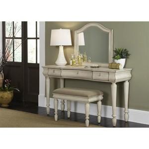 Vanity Deck Mirror   Liberty Furniture