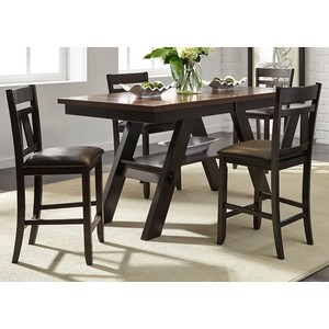 Lawson Gathering Height Dining Set | Liberty Furniture