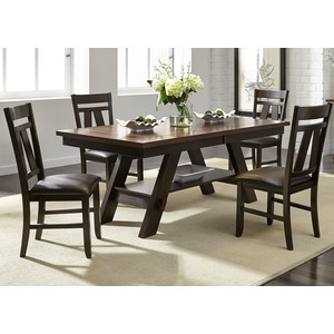 Lawson Pedestal Dining Room Set | Liberty Furniture