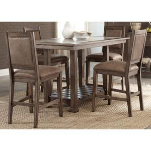 Stone Brook Kitchen Island Dining Set | Liberty Furniture