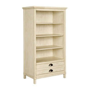 Driftwood Park Bookcase in Vanilla Oak | Stone & Leigh