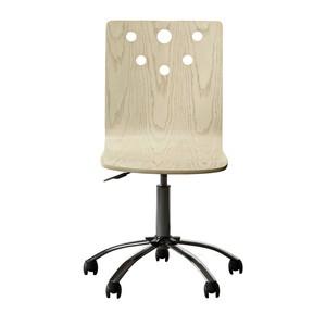 Driftwood Park Desk Chair in Vanilla Oak   Stone & Leigh