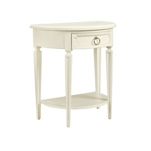 Clementine Court Bedside Table in Frosting | Stone & Leigh
