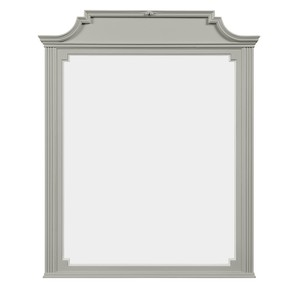 Clementine Court Mirror in Spoon   Stone & Leigh