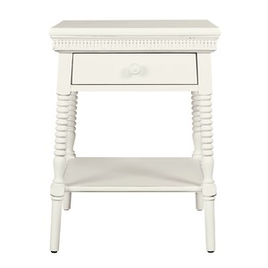 Smiling Hill Bedside Table in Marshmallow | Stone & Leigh