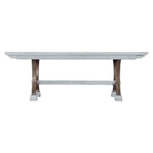 Shelter Bay Dining Table in Sea Salt | Stanley Furniture