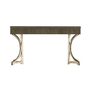 Curl Tide Flip Top Dining Table in Deck | Stanley Furniture