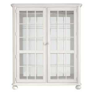 Newport Storage Cabinet in Saltbox White | Stanley Furniture