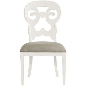 Wayfarer Side Chair in Saltbox White | Stanley Furniture