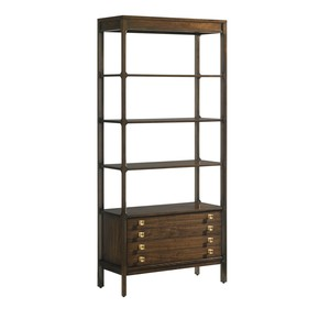 Welton Bookcase in Porter | Stanley Furniture
