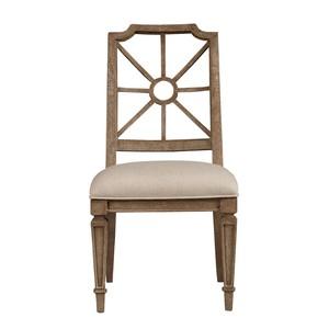 Side Chair in Brimfield Oak | Stanley Furniture