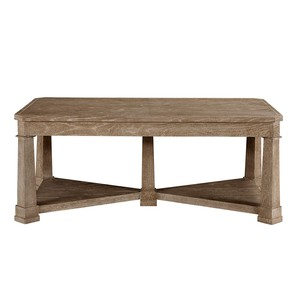 Cocktail Table in Brimfield Oak | Stanley Furniture
