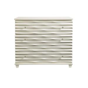 Tides Single Dresser in Saltbox White   Stanley Furniture