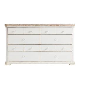 Dresser in 17th Century White | Stanley Furniture