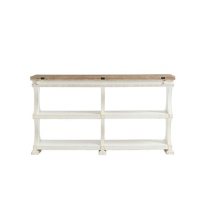 Flip-Top Table in 17th Century White | Stanley Furniture