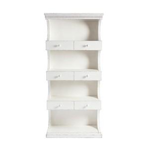 Bookcase in 17th Century White | Stanley Furniture