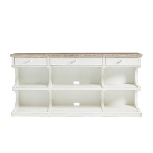 Media Console in 17th Century White | Stanley Furniture