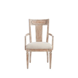 Contemporary Armchair in English Clay | Stanley Furniture