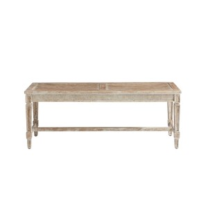 Bed End Bench in English Clay   Stanley Furniture