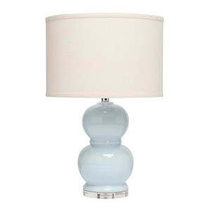 Bubble Ceramic Table Lamp with Blue | Furnitureland Home
