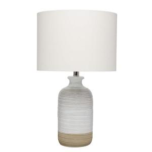 Ashwell Table Lamp in Natural Ceramic | Furnitureland Home