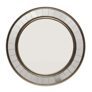 Coltrane Mirror in Antique Bronze Wood | Furnitureland Home